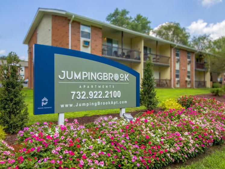 Jumping Brook Entrance