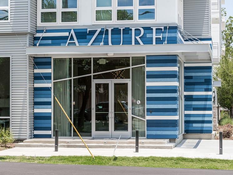 Entrance at Azure Houston Apartments, Houston, 77007