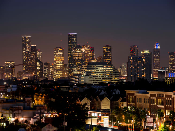 Amazing View at Azure Houston Apartments, Houston, TX, 77007