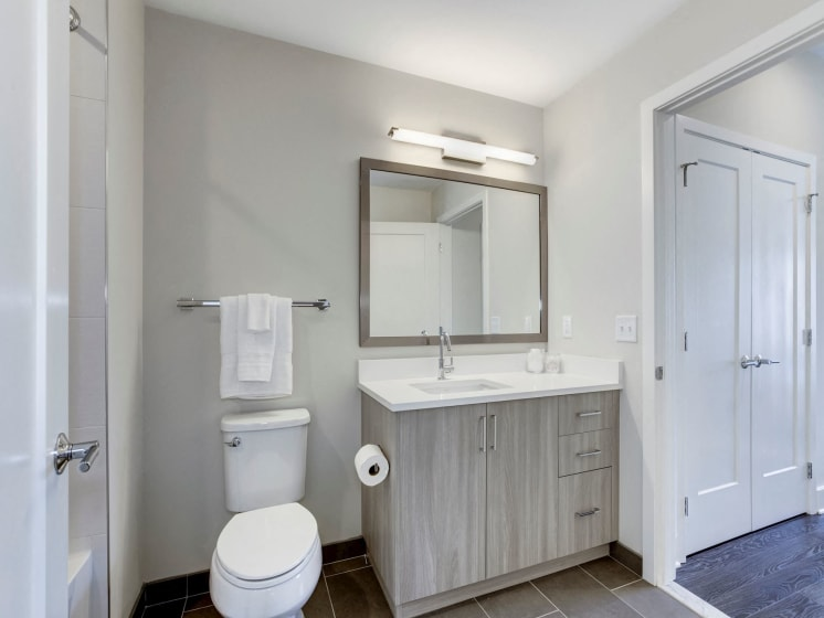 Bathroom- One Bedroom A05a