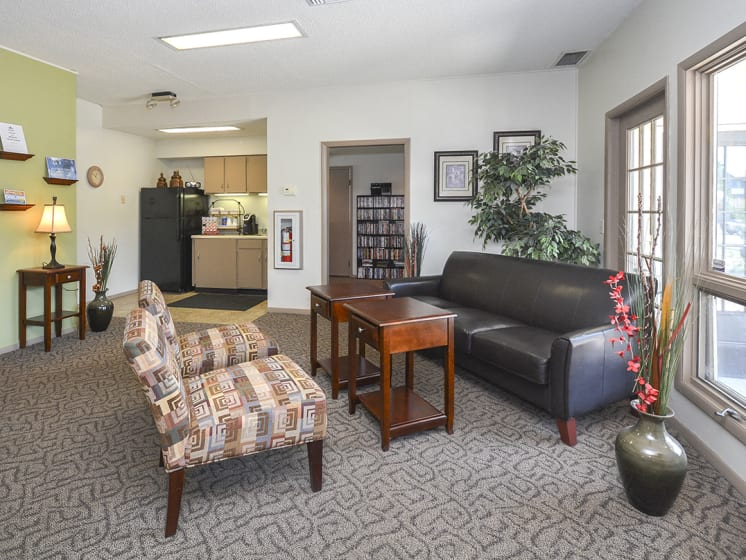 Community Clubhouse with Movie Rentals