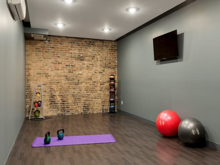 Yoga Room at The M on Hennepin Apartments in Minneapolis, MN