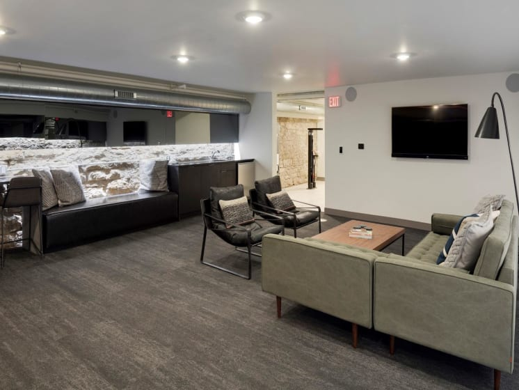 Community Space at The M on Hennepin Apartments in Minneapolis, MN