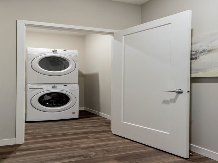 Laundry Machines In-Unit at The M on Hennepin in Minneapolis, MN