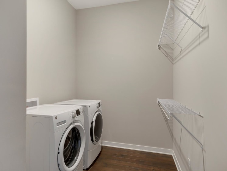 Laundry Room In-Unit at The M on Hennepin in Minneapolis, MN