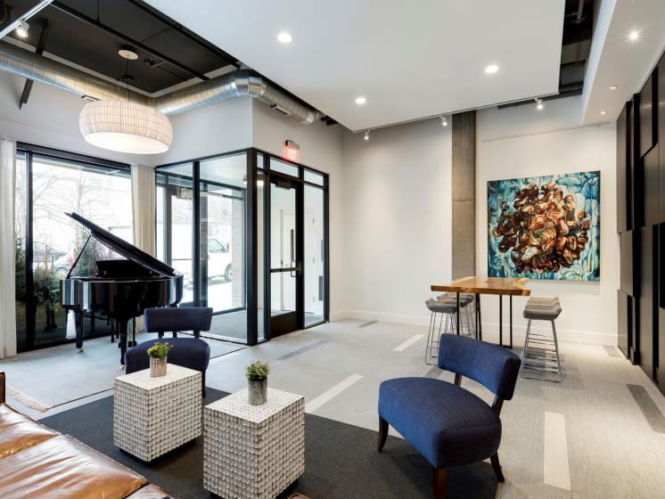 Modern Interiors at The M On Hennepin Apartments in Minneapolis, MN