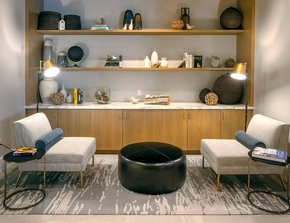 Social Lounge at Two Lincoln Tower, Washington