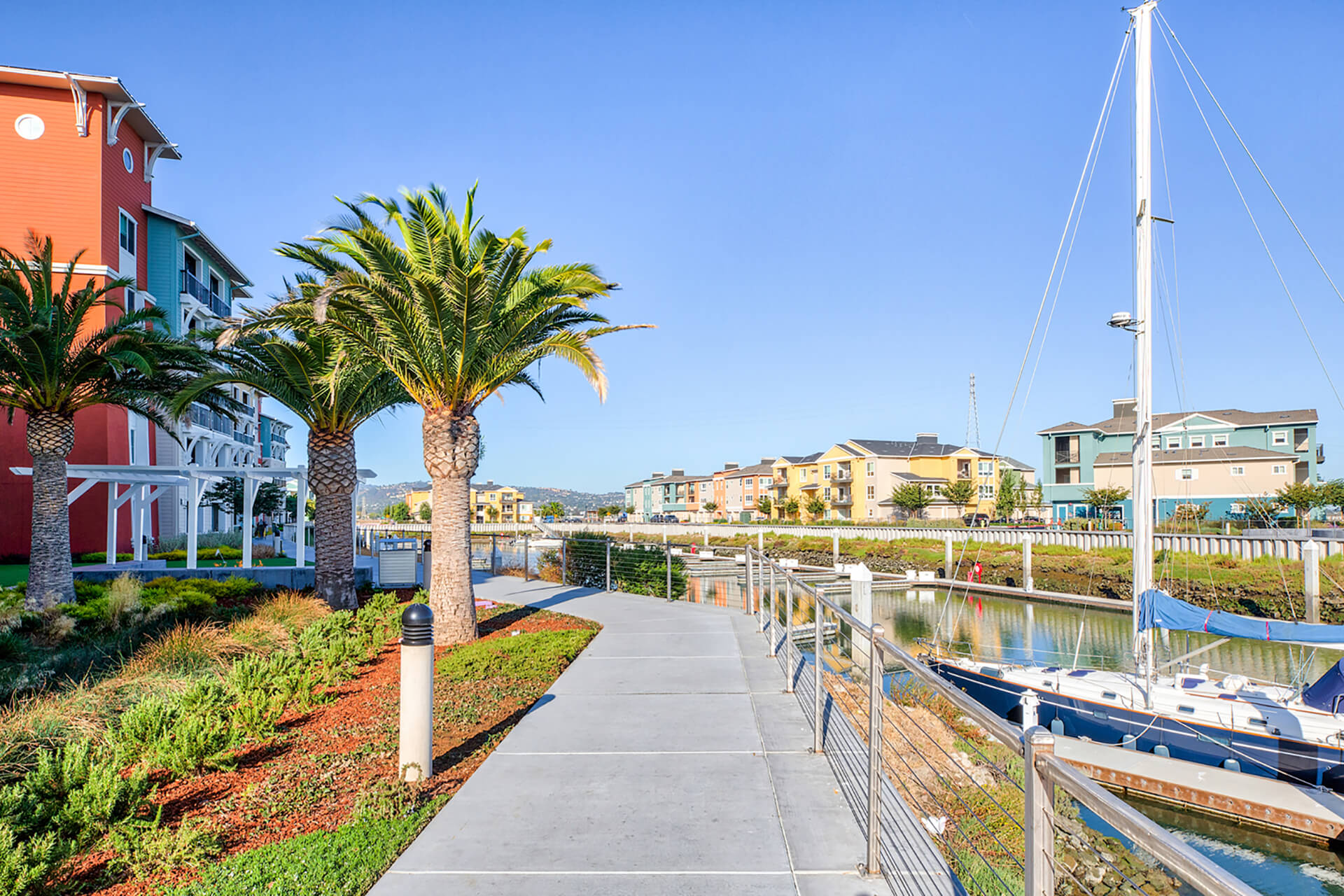 Stunning marina at Blu Harbor by Windsor, 1 Blu Harbor Blvd, Redwood City