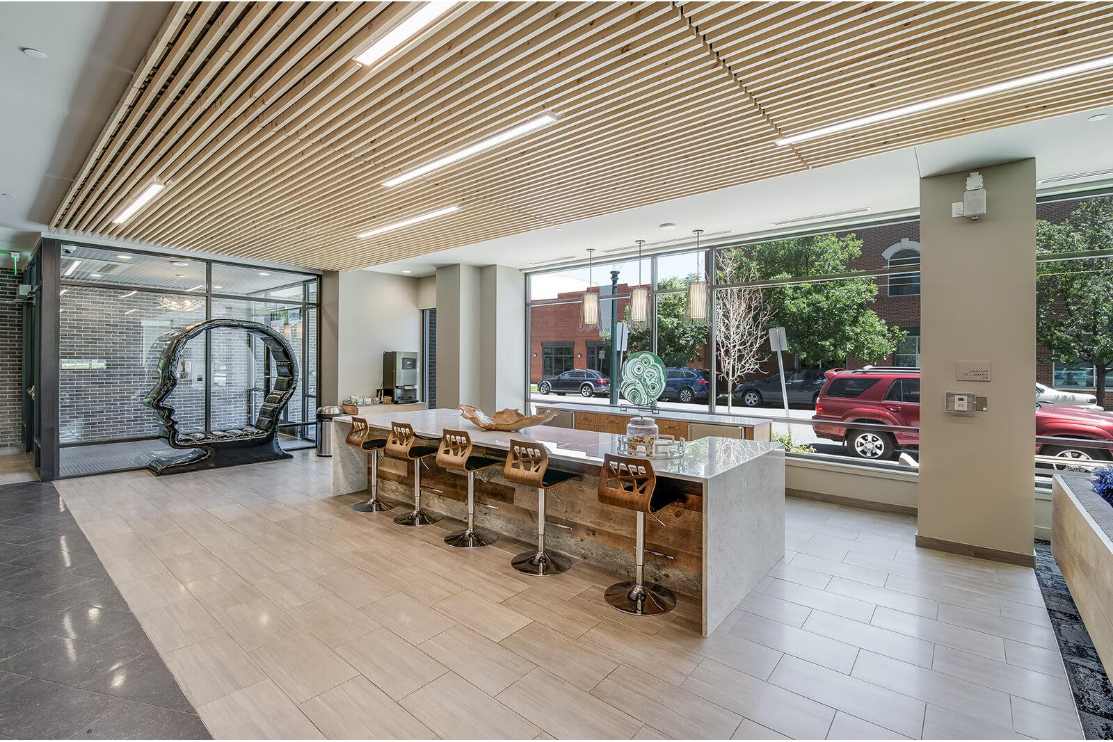 Expansive Indoor and Outdoor Amenities at 1000 Speer by Windsor, 1000 Speer Blvd., Denver