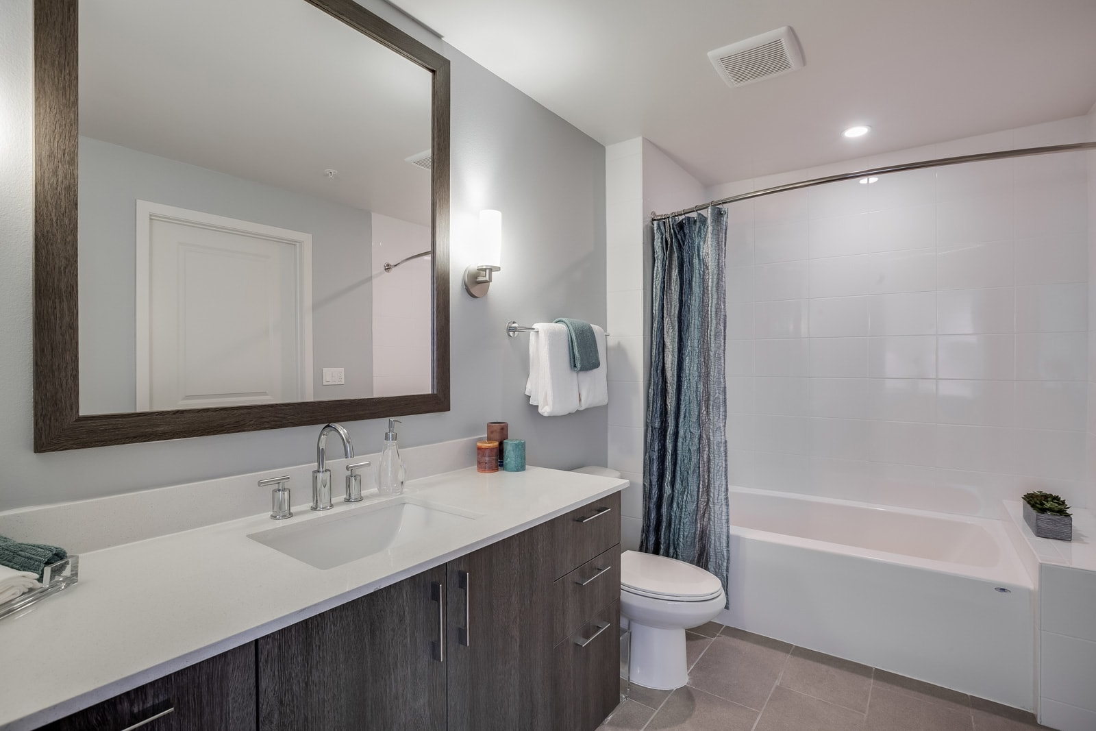 Spa-Inspired Bathrooms at Allure by Windsor, Boca Raton, FL