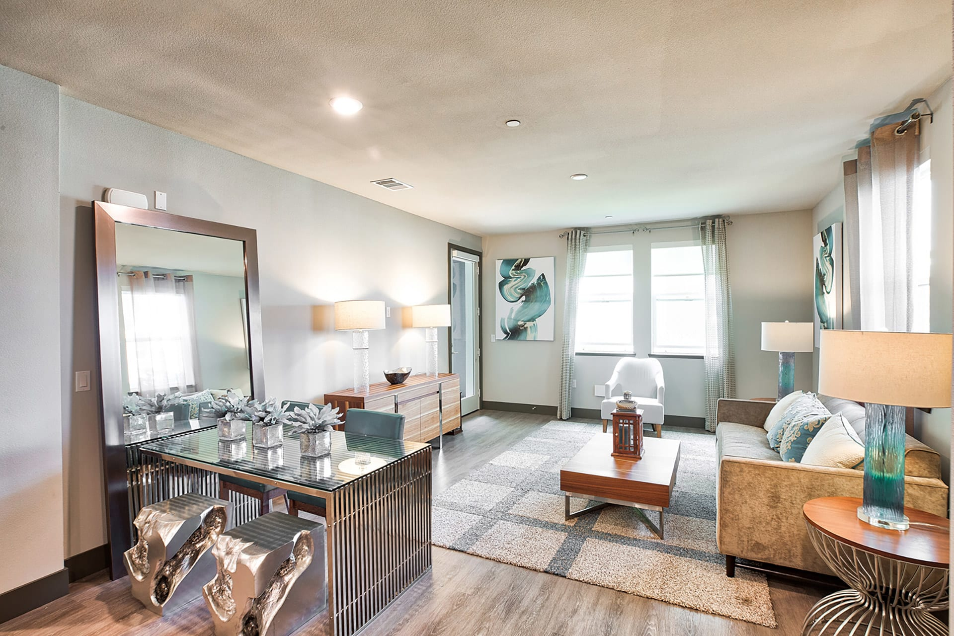 Spacious living room at Blu Harbor by Windsor, 1 Blu Harbor Blvd, Redwood City