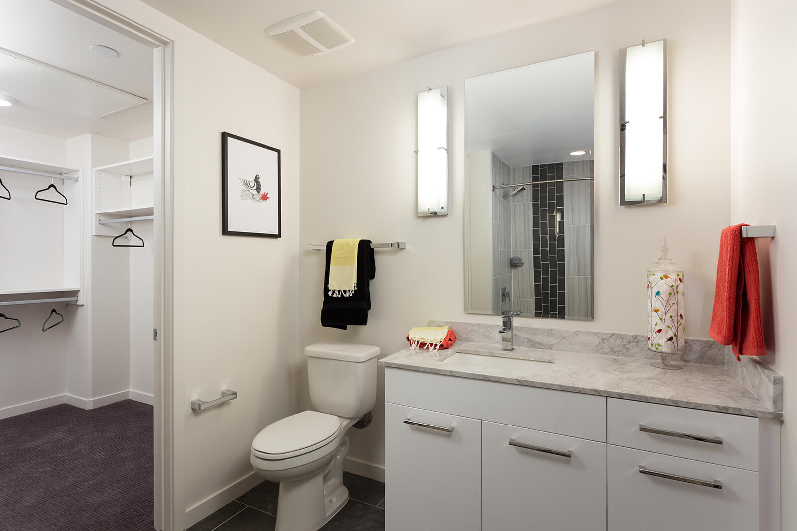 Large Walk-In Closet Attached to Bathroom at 1000 Speer by Windsor, 1000 Speer Blvd., CO