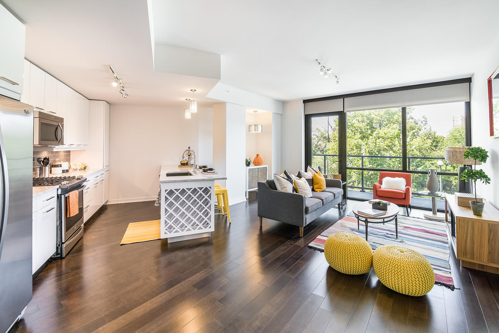 Modern Apartments with Open Layout at 1000 Speer by Windsor, Denver, 80204