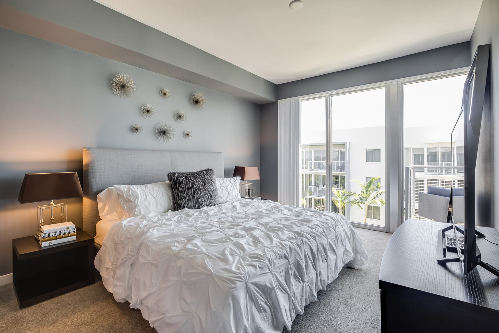 Classic Bedroom at Allure by Windsor, Boca Raton, FL