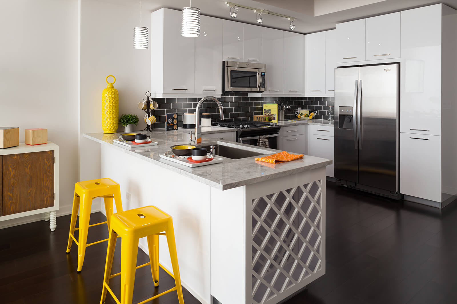 Chef-Inspired Kitchens with Stainless Steel Appliances at 1000 Speer by Windsor, 80204, CO