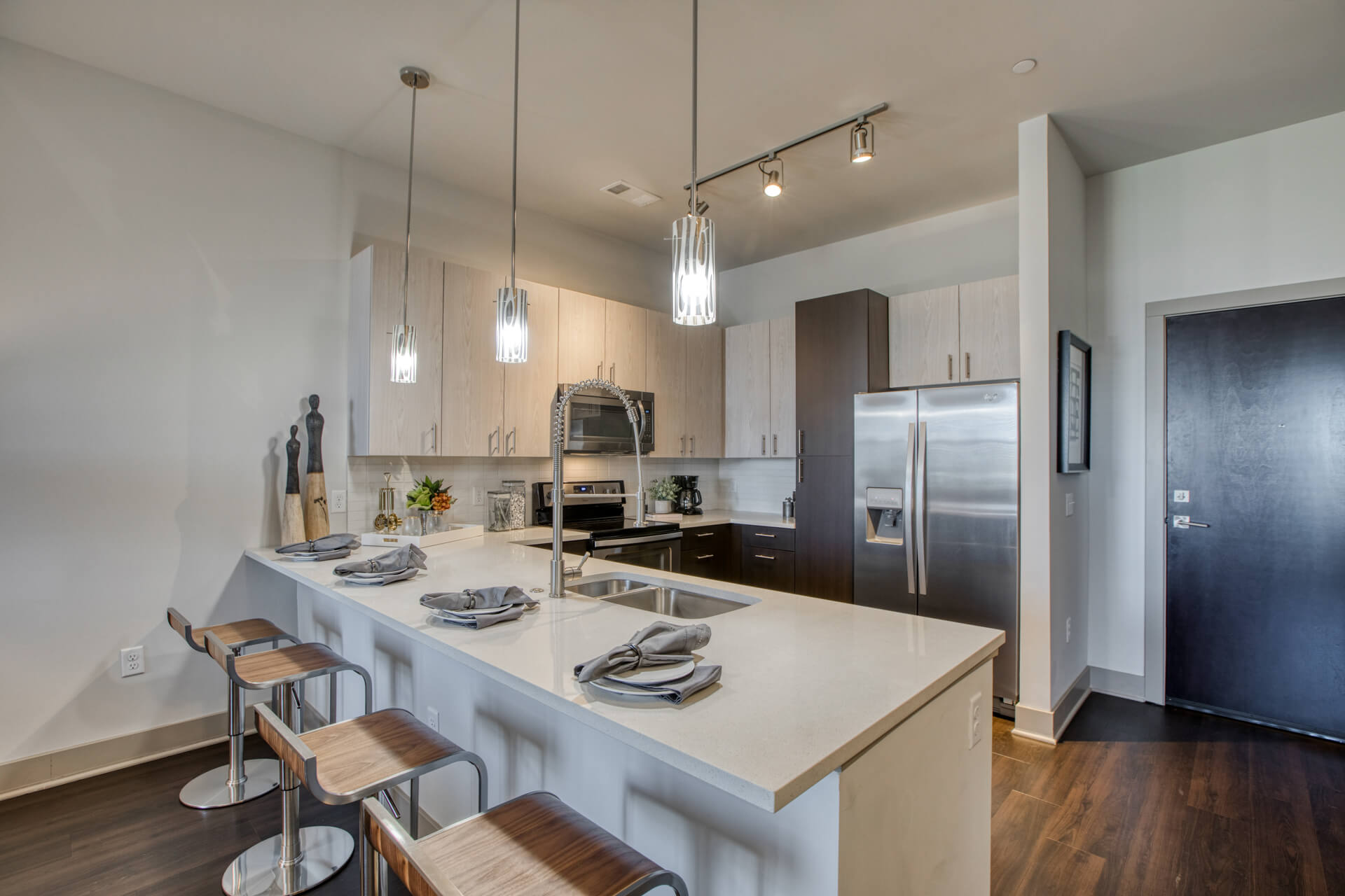 Eat-In Kitchen Table With Sink at Centric LoHi by Windsor, Denver
