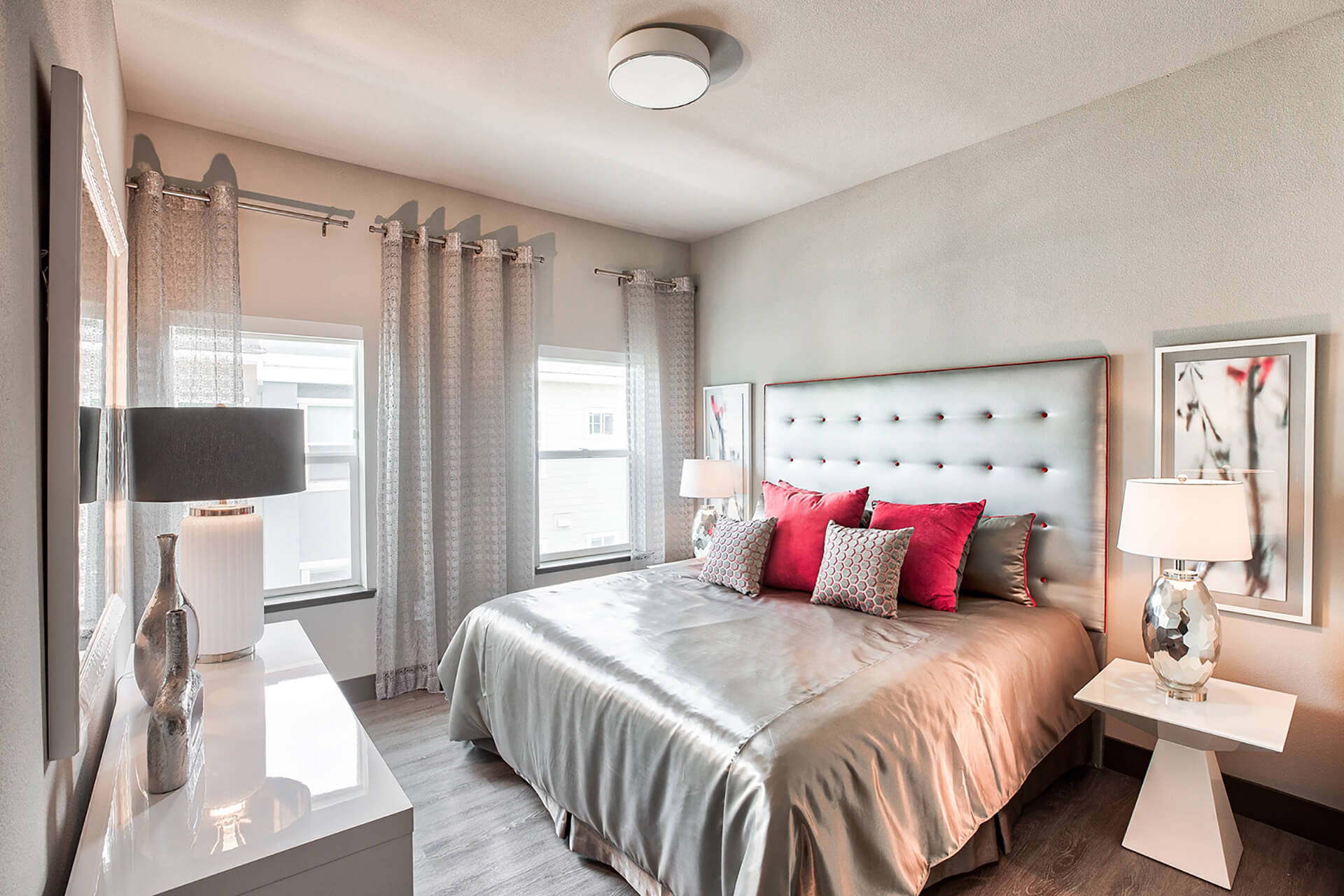 Spacious bedrooms at Blu Harbor by Windsor, 94603, CA