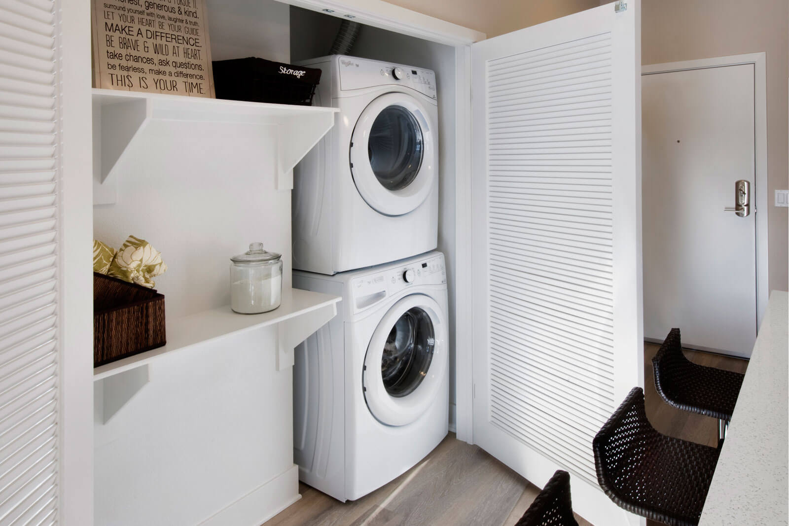 In-Unit Washers/Dryers at Boardwalk by Windsor, 7461 Edinger Ave., CA