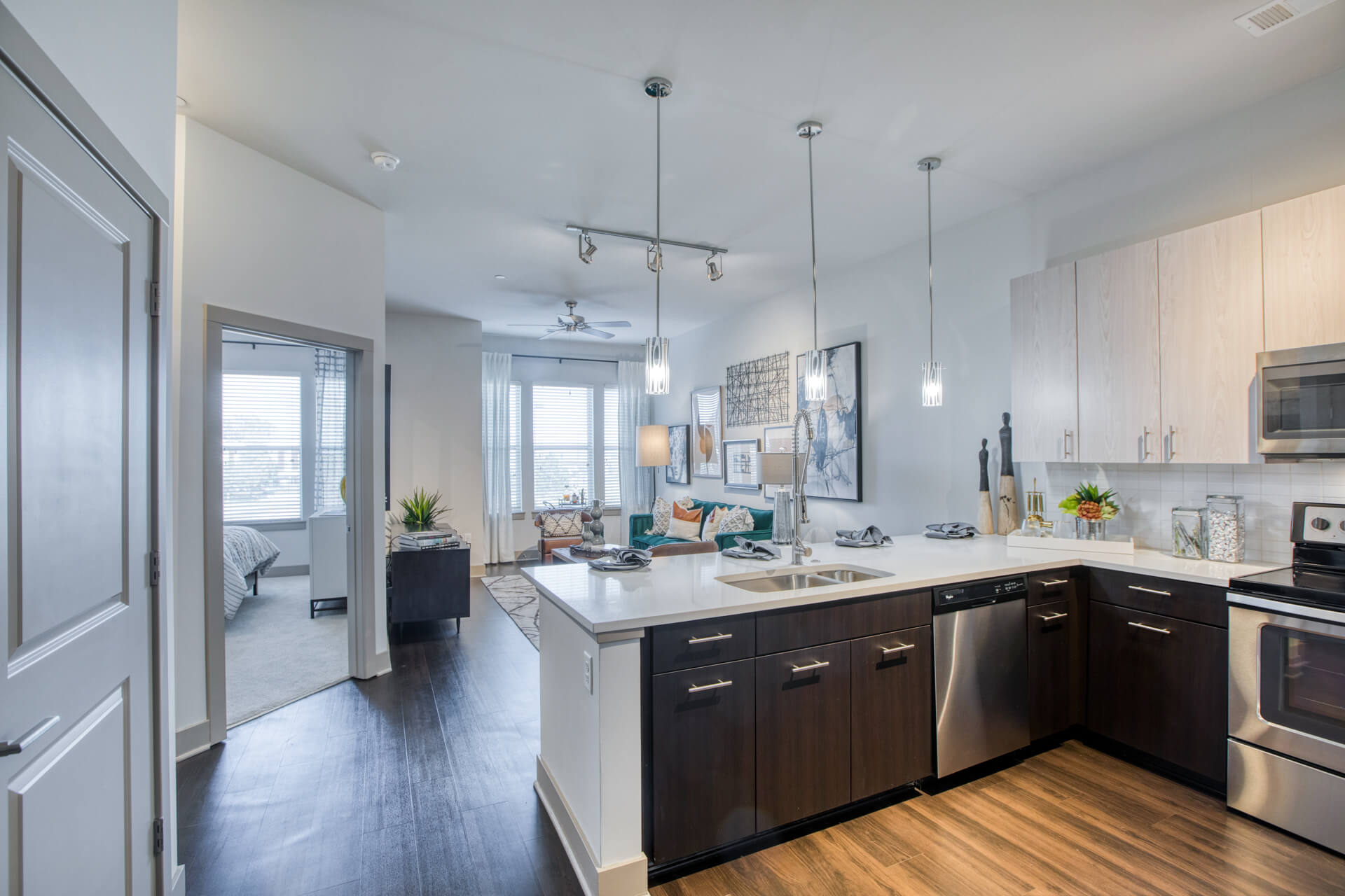 Energy Efficient Appliances In Kitchen at Centric LoHi by Windsor, Denver, Colorado