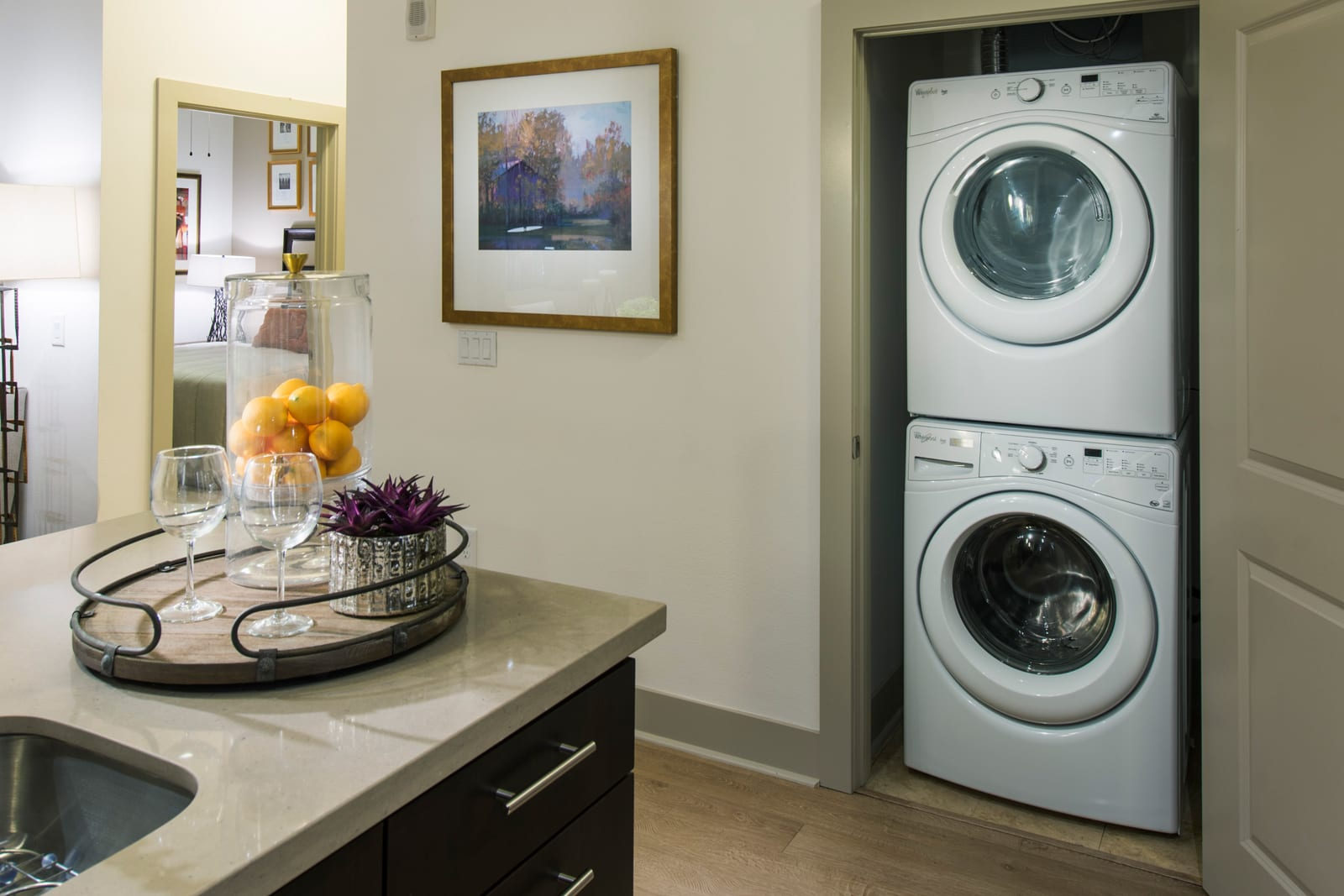 Washer/Dryer at 1000 Grand by Windsor, 1000 S Grand Ave,, CA