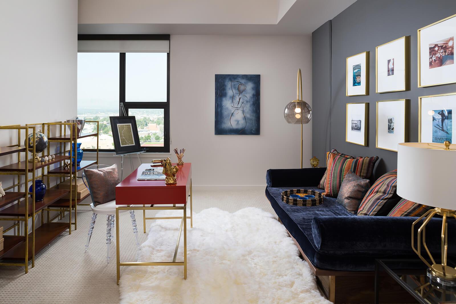 High Ceilings in Living Spaces at 1000 Speer by Windsor, Denver, 80204