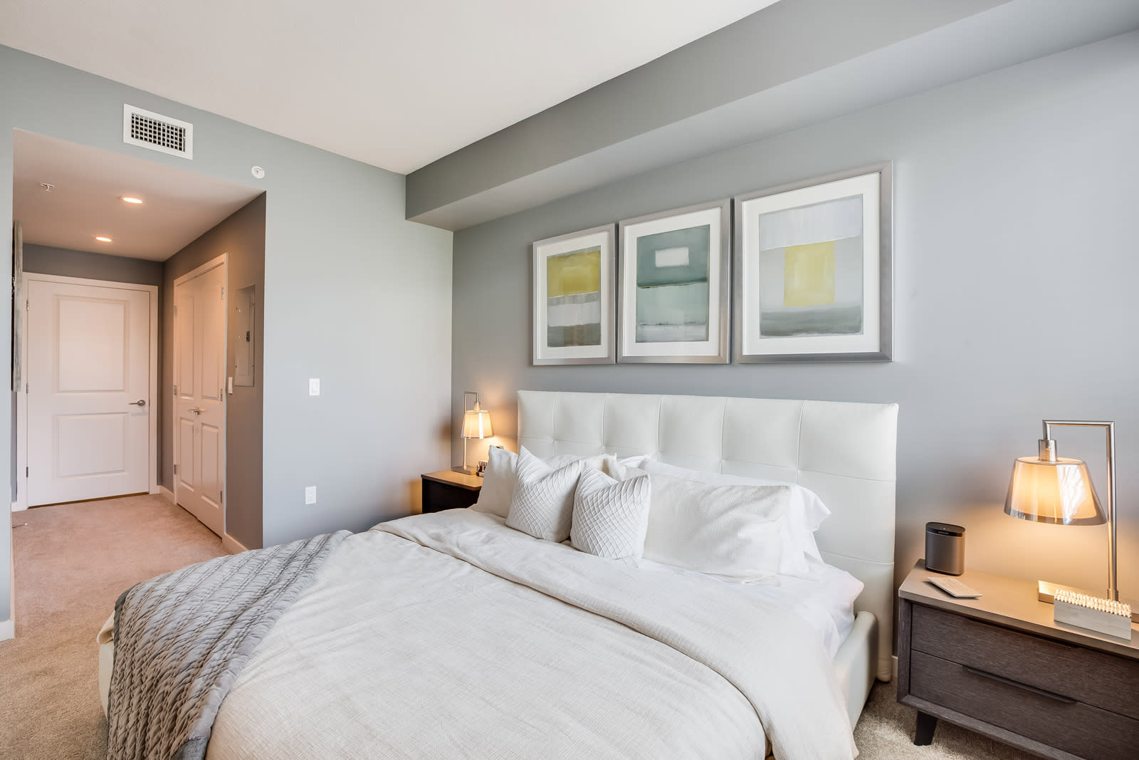 Spacious Bedrooms at Allure by Windsor, Boca Raton, Florida