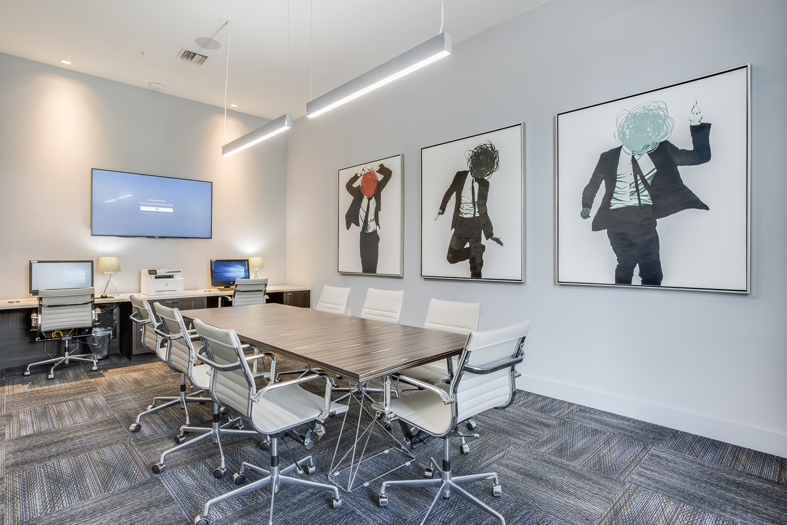 Business Center and Conference Room at Allure by Windsor, 33487, FL