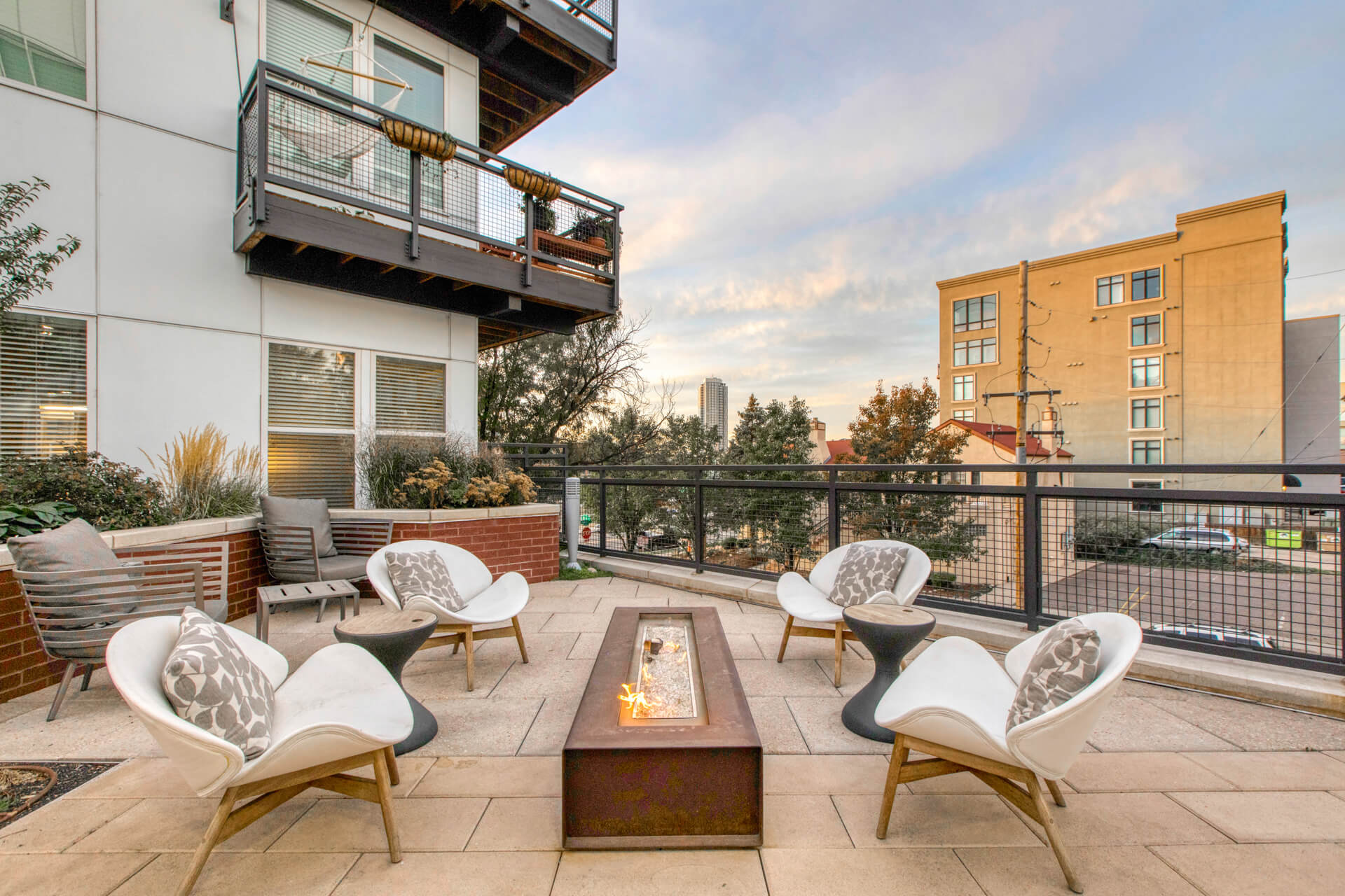 Rooftop Terrace Area at Centric LoHi by Windsor, Denver, CO, 80211