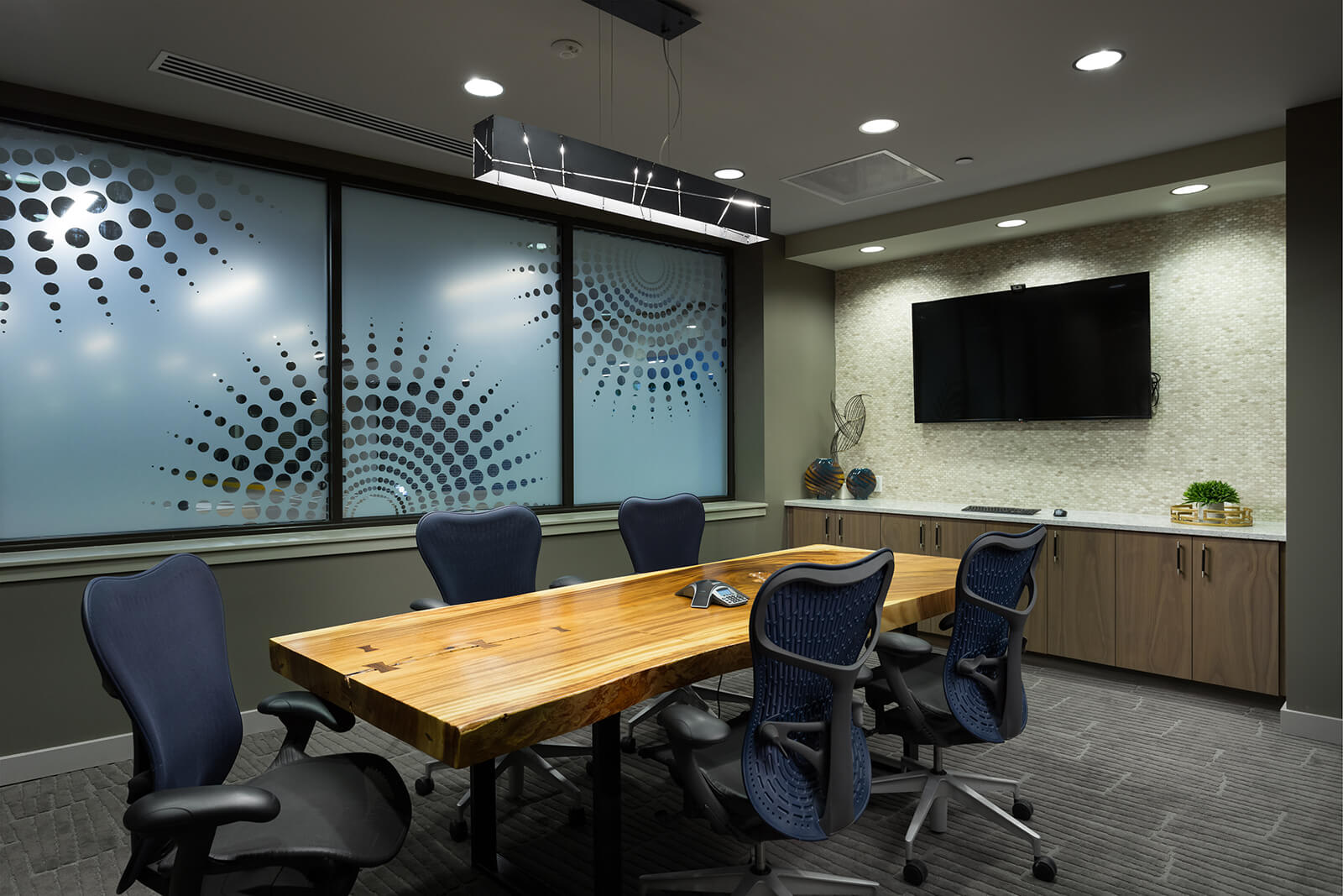 Private Conference Room with TV and Teleconferencing at 1000 Speer by Windsor, 80204, CO