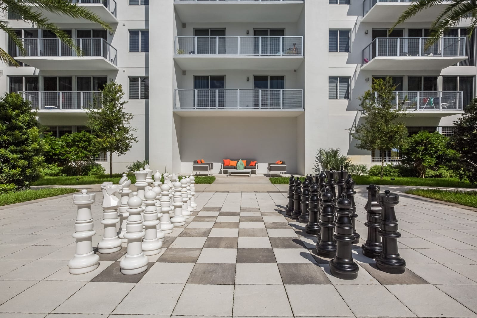 Shuffleboard, Billiards and Giant Chess Available at Allure by Windsor, Boca Raton, 33487