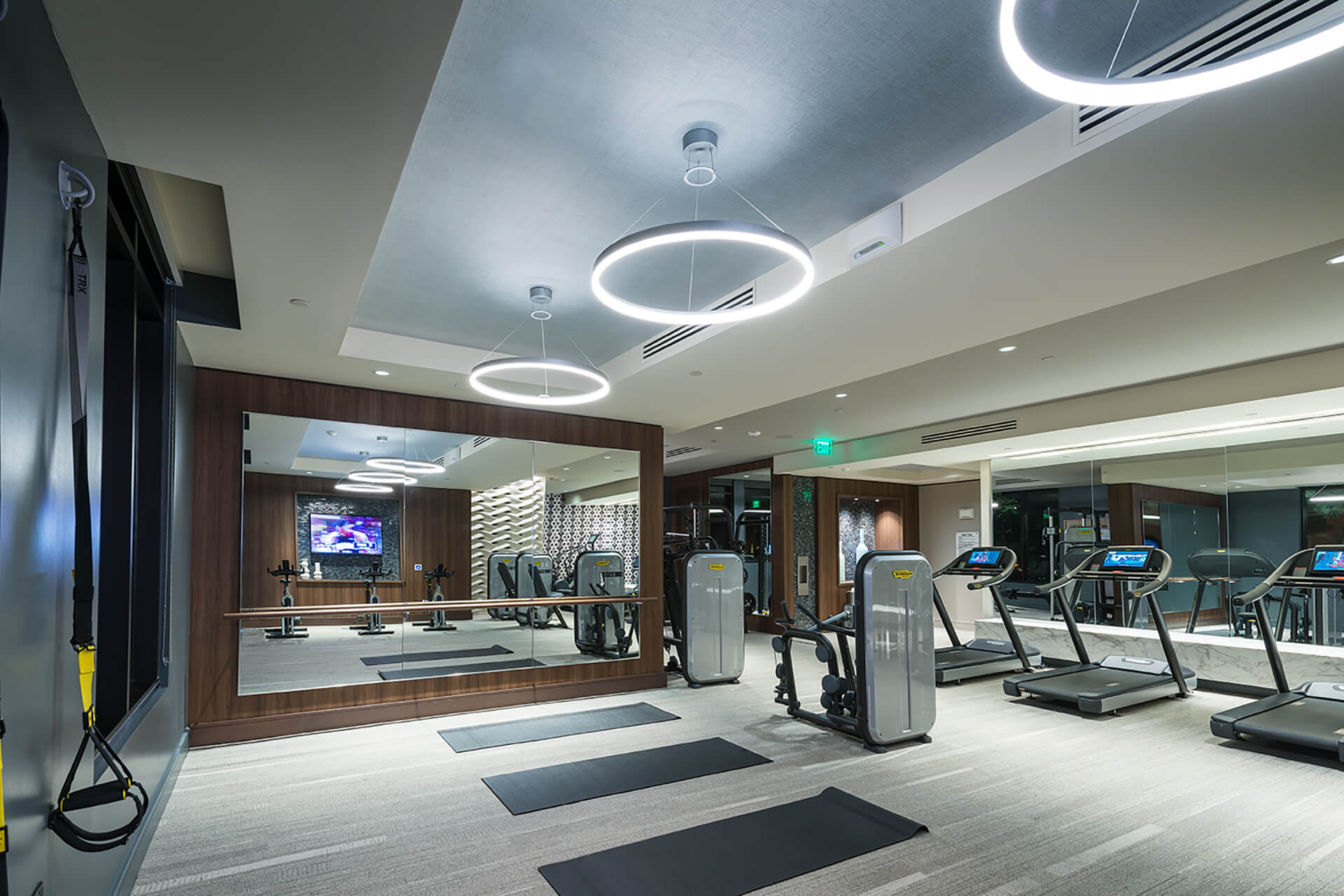 TRX Station in Fitness Center at Cannery Park by Windsor, 415 E Taylor St, San Jose