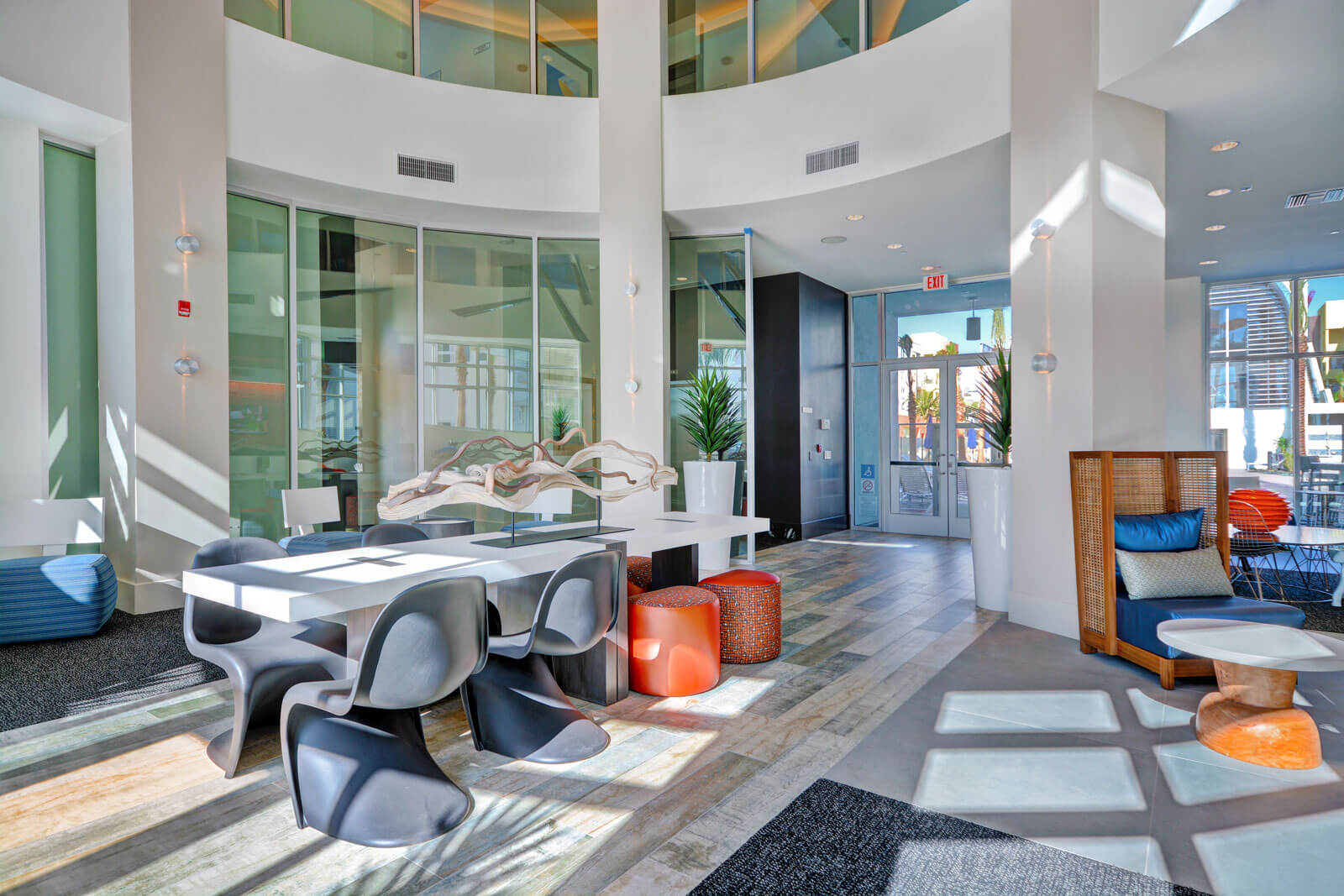 Resident Social Lounge with Vintage Game Room at Boardwalk by Windsor, California, 92647