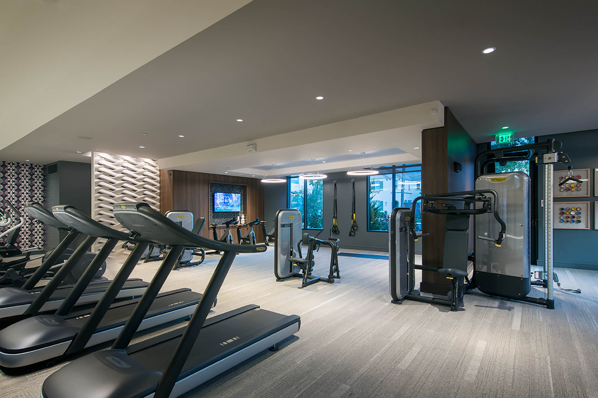 On-site 24-hour fitness center at Cannery Park by Windsor, San Jose, 95112