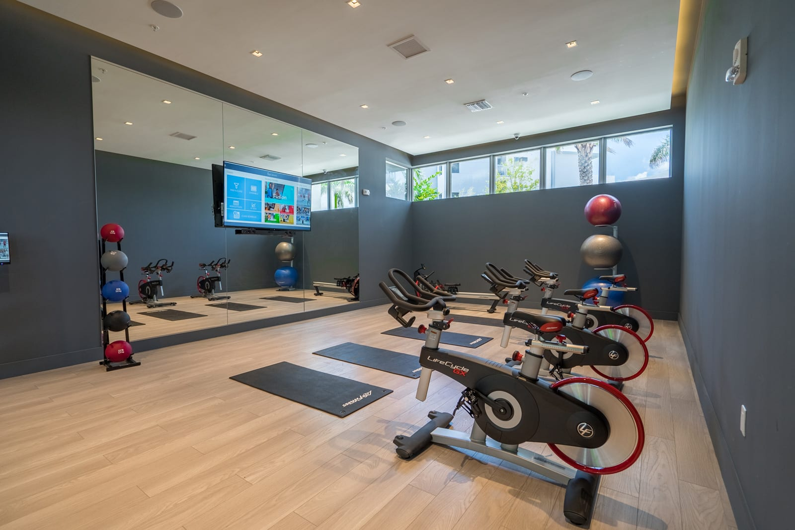 Spin Studio with On-Demand Classes at Allure by Windsor, 6750 Congress Avenue, FL