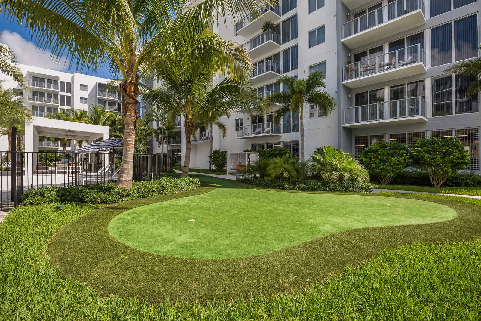 Putting Green at Allure by Windsor, 33487, FL