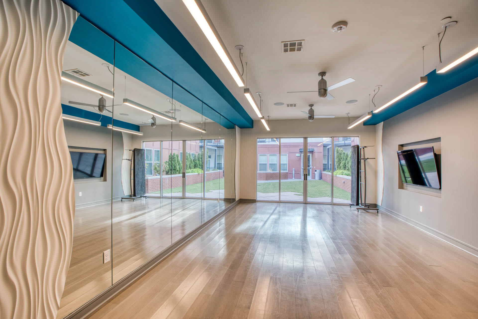 Fitness Center With Yoga/Stretch Area at Centric LoHi by Windsor, Denver, 80211