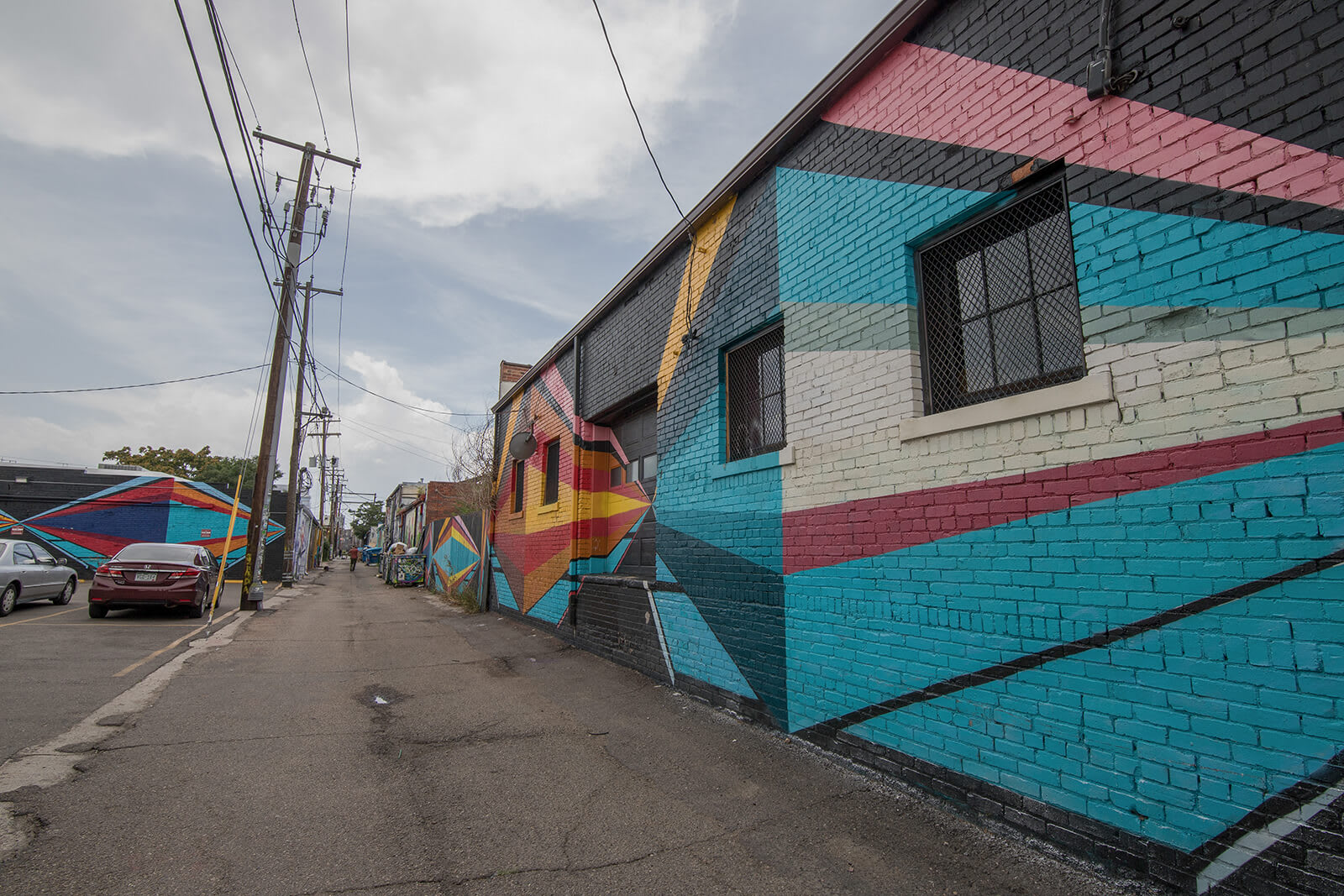 Beautiful Denver Street Art around 1000 Speer by Windsor, Colorado, 80204