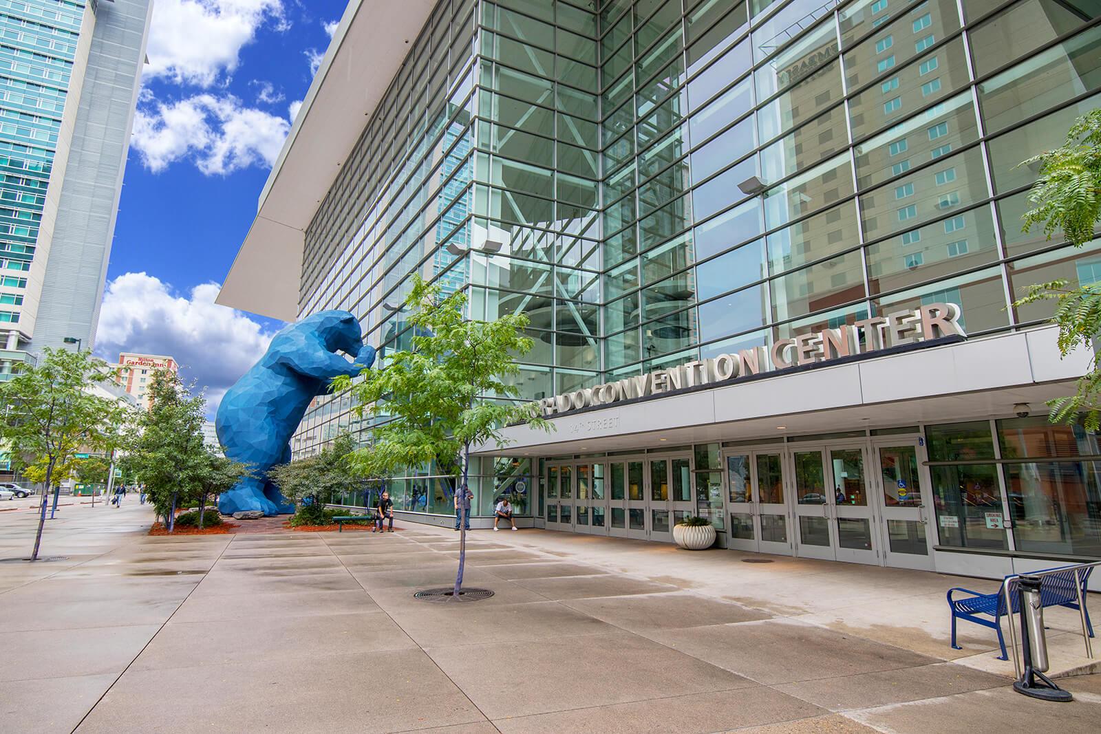 Denver Convention Center near 1000 Speer by Windsor, Denver, Colorado