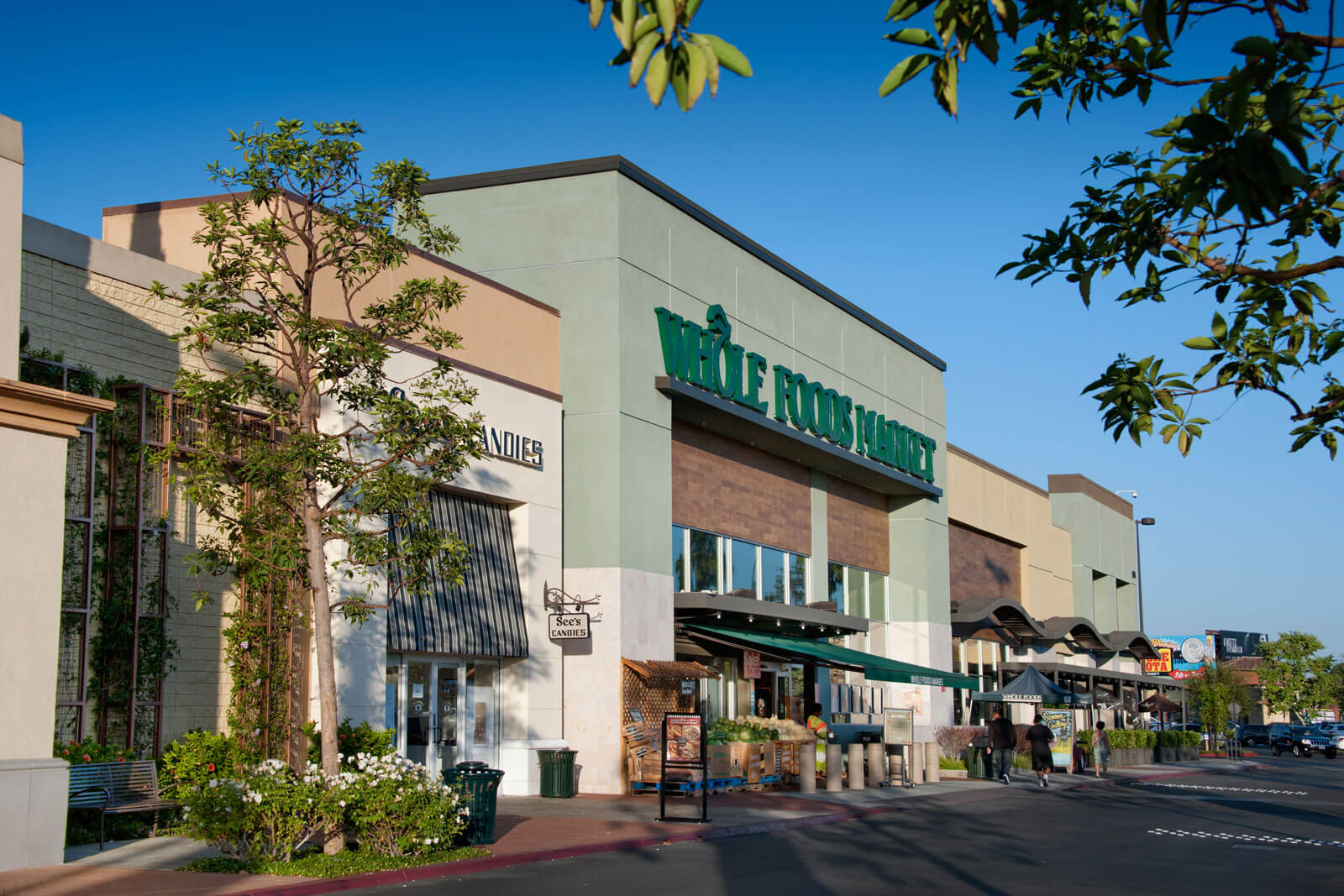 Whole Foods is nearby at Boardwalk by Windsor, Huntington Beach, California