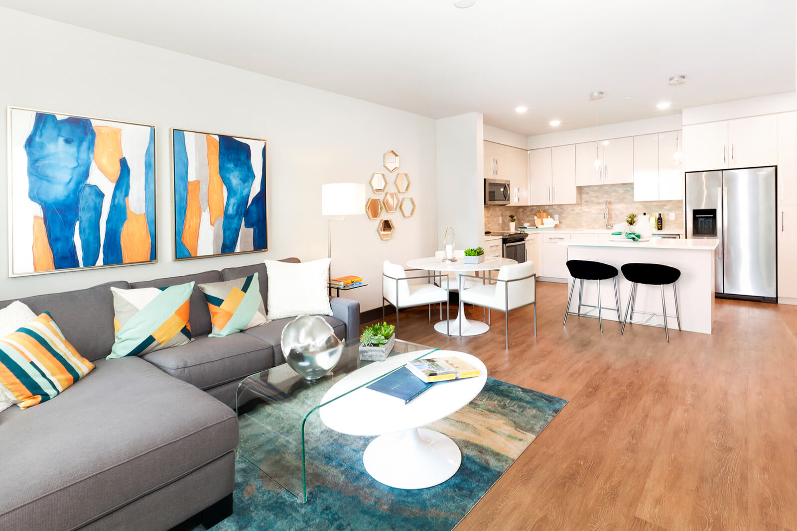 Expansive Floor Plans at Blu Harbor by Windsor, Redwood City, California