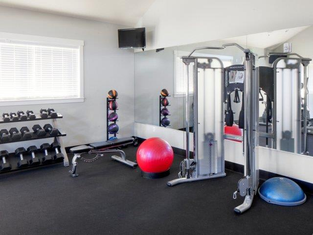 The Landing Apartments Fitness Center