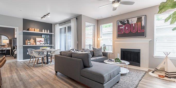 Gorgeous Living Room at Pallas, Oregon