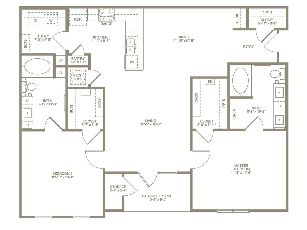 Annandale Floor Plan 2