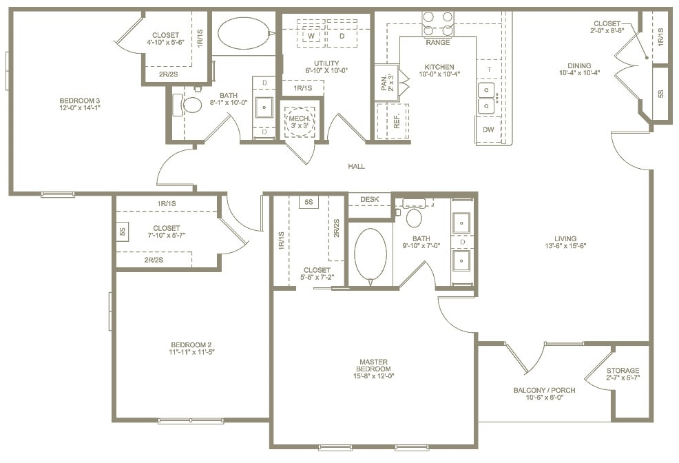 Annandale Floor Plan 3