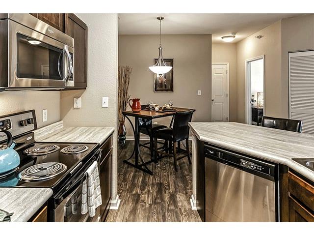 Efficient Appliances In Kitchen at Vue, The, Bellevue, NE, 68123