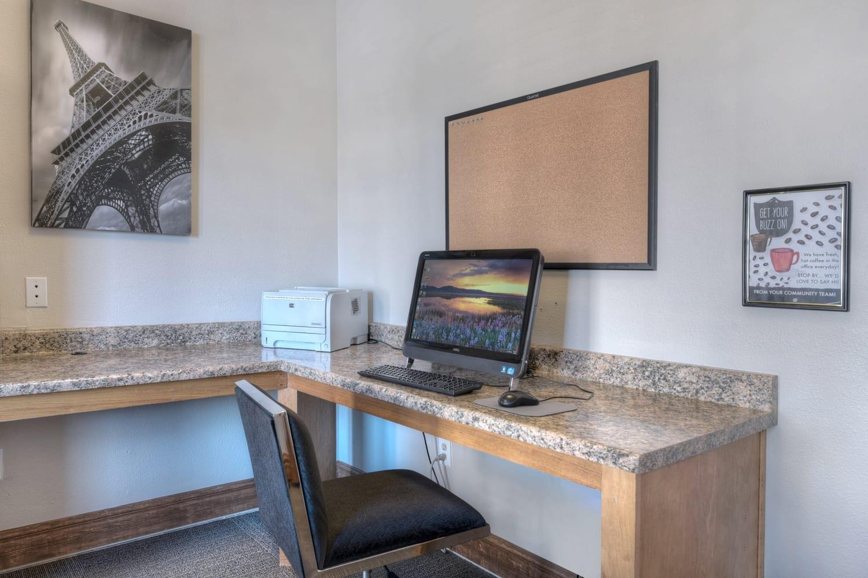 Computer Lab at Manzanita Gate Apartment Homes, Reno, NV
