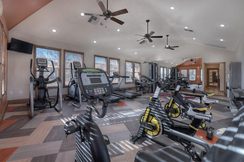 Fully Equipped Fitness Center at Manzanita Gate Apartment Homes, Reno, NV