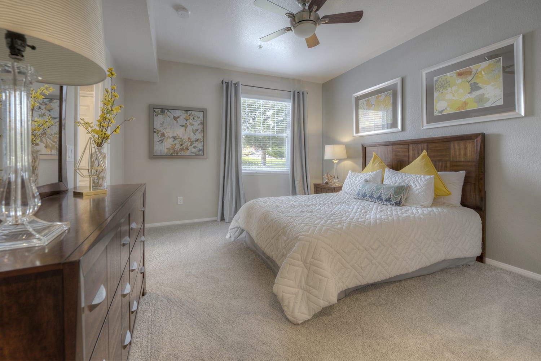 Well-Lighted Bedroom at Manzanita Gate Apartment Homes, Reno, NV