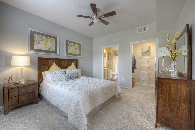 Model Bedroom at Manzanita Gate Apartment Homes, 2475 Robb Drive, NV
