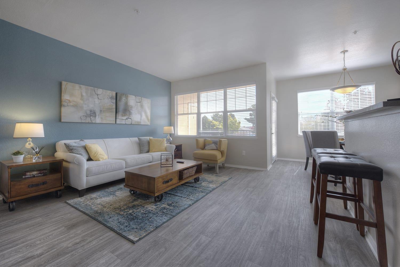 Wood Style Flooring at Manzanita Gate Apartment Homes, Nevada, 89523